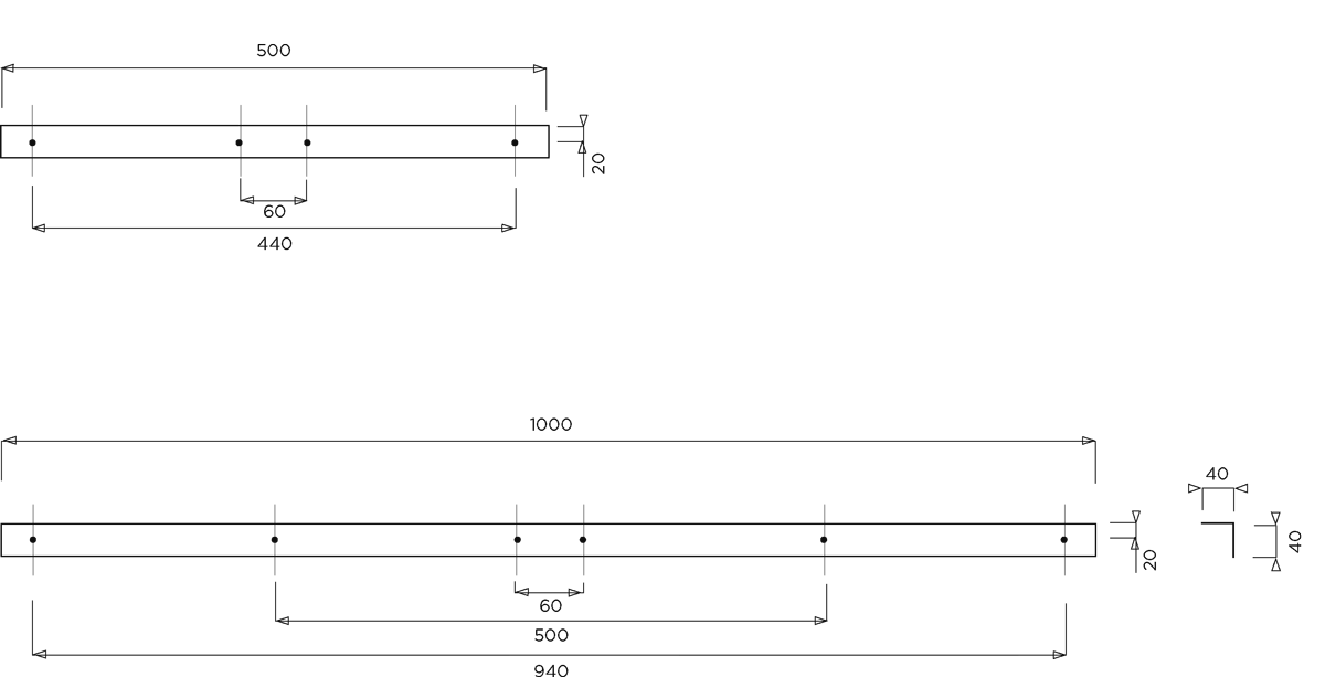 Plan cornières inox
