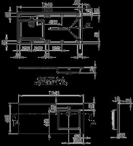 Plan vasque Lave linge